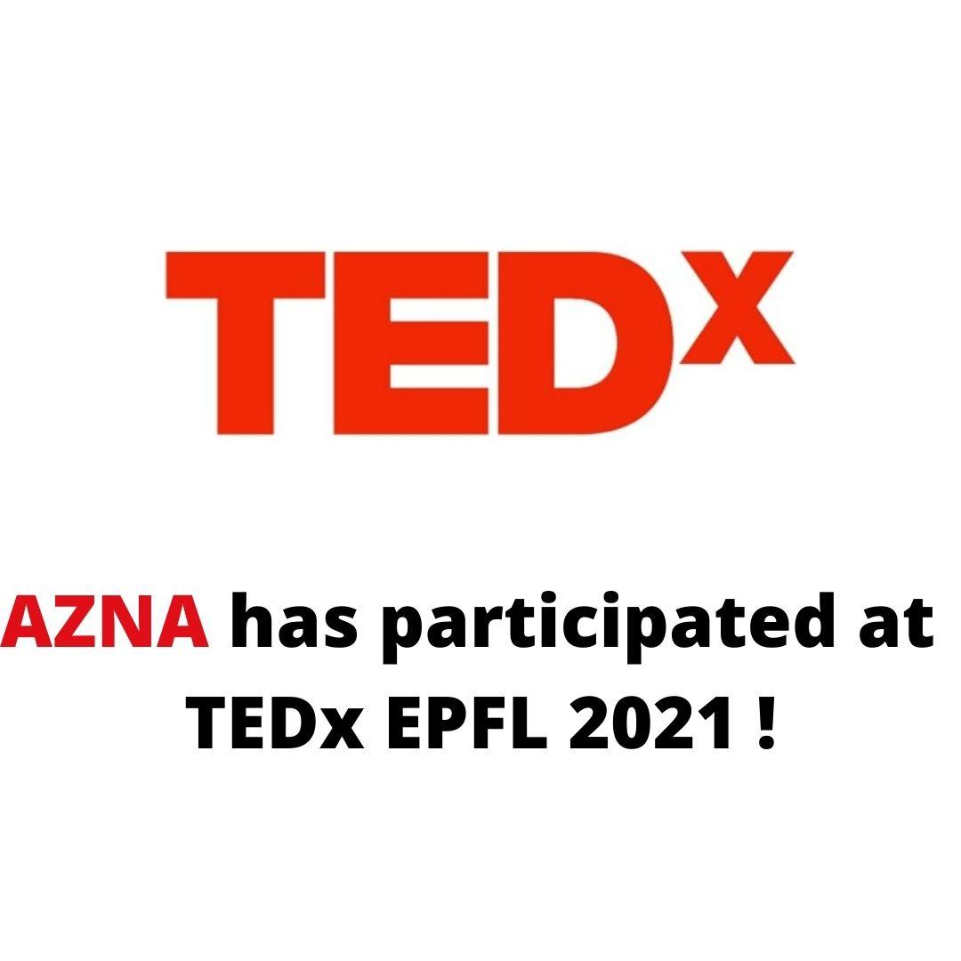 TEDx EPFL 15 avril 2021 !